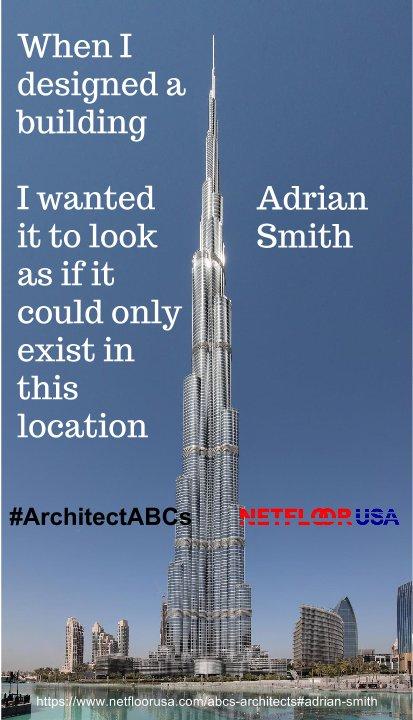 ArchitectABCs - Netfloor USA - Adrian Smith - Burj Khalifa