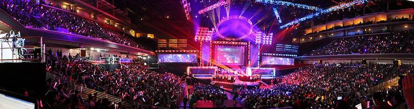 League of Legends World Championship - eSports Needs Cable Management Access Floors