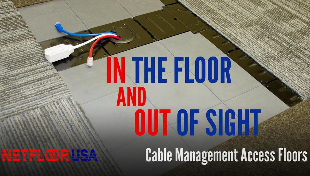 Cable Management Access Floor (Netfloor USA ECO)