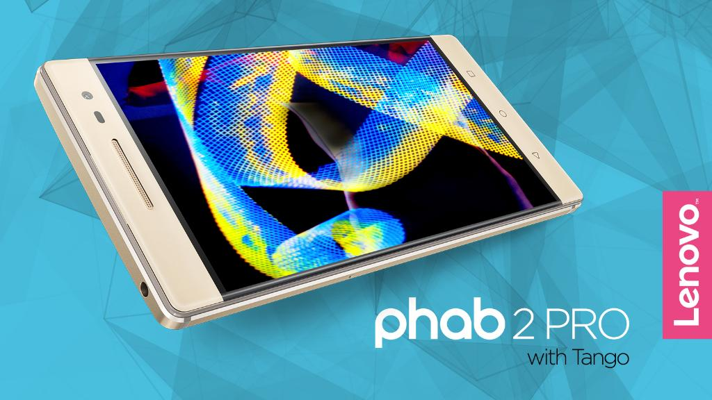 Lenovo Phab 2 Pro Phone - Photo Courtesy Lenovo