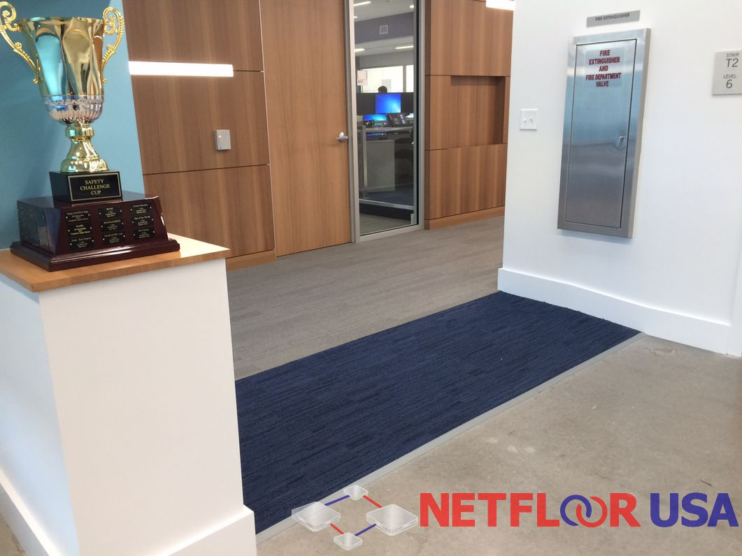 Raised Access Floors with Hidden Ramps (Good for Retail and Office Spaces)
