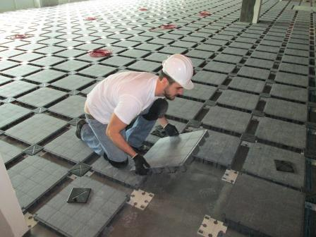NetfloorUSA Access Floor Installation